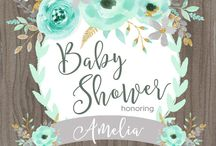 Shower invitations
