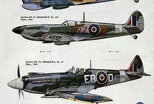 Letadla-Anglie / WW2