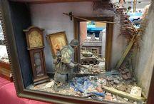 Scale dioramas