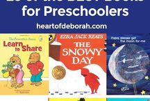 Books and Games We Love / Here are some great books and games for toddlers, preschoolers and older children.