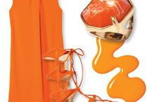 My Orange Look