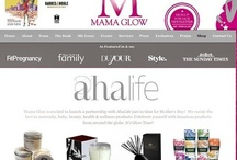 Mama Glow + Aha Life / Mama Glow is excited to launch a partnership with AhaLife just in time for Mother's Day!  We curate the best in maternity, baby, beauty, health & wellness products. Celebrate yourself with luxurious products from around the globe. It's Glow Time!