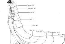 informações sobre vestido de noiva