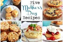 Mother's Day / DIY crafts, recipes and poems