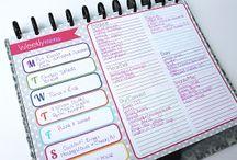 *I D E A S* binder / notepad / diary / filofax / inspiration