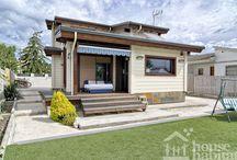 Casa Piera / Casa de estructura de madera, con aislamientos naturales y eficiente energéticamente.