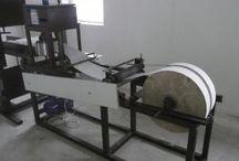 Utilaj fabricare servetele din hartie imprimate mecanic din celuloza in 2 straturi