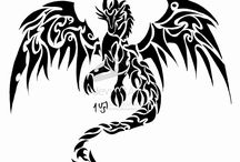 Drachen-Tattoos