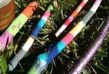 Painted Woodsticks