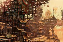 Fantasy landscapes&scenes