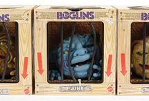Boglins / Boglins were first released in 1987, however, many other varieties soon followed including Mini Boglins which were very popular in their own right.