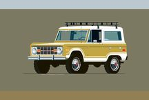 Ford Bronco / Cool pictures about Ford Broncos.