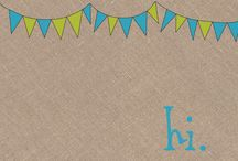 Stationery / by Katherine at Grass Stains
