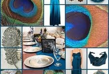 peacock themed event inspiration