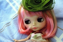 bLyTHe / My Inner Child still Covets Blythe, she is Exquisite with her large interchangeable eye colors / by Marilee Aschwanden