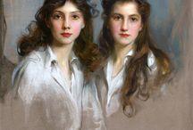 Две девушки / Подруги, сестры, девушки в паре