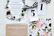 Wedding paper item