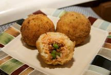 Sicilian rice balls aranchini