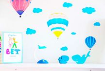 Scandinavian design for children's rooms and nursery rooms / Beautiful ideas on how to decorate your child's room with the Tokens of Happiness from Design by WITT. Scandinavian design crafted to last, these two wooden creations will be your baby's best friends and will spread happiness to everyone around them