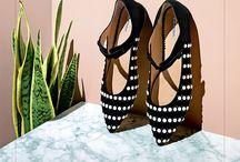 Platform and plant shoes