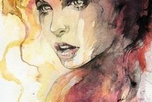 watercolours / art of watercolours