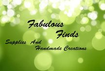Fabulous Finds Supplies & Handmade FB Auction / Fun and friendly place to find all your jewelry crafting goodies. As well as Unique and creative handmade designs. https://www.facebook.com/groups/fabulousfindsauctions/