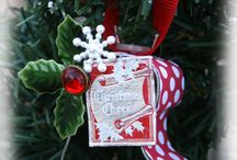 handmade Christmas ornaments / by Tina Townley