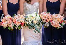 Gorgeous wedding boquets