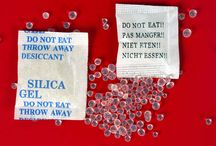 USES OF SILICA GEL PACKETS