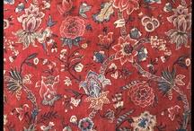 XVIII etoffe/fabric/brodrie/embroidery/ / XVIII wiek materiały hafty
