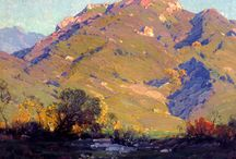 Hanson Puthuff / cuadros al óleo del artista norteamericano Hanson Puthuff.