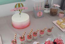 Hot air ballon party/ First birthday