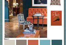 living room colors / by Sam Fisher