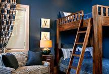 Boys Bedroom Blue Walls