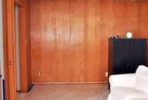 Wood paneling makeover