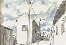 Urban Sketch / Sketching, urban sketch? travel sketch