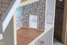 doll houses / Miniature doll houses and toy maker inspiration using mixed medias and lots of imagination!