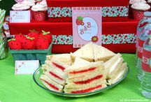 strawberry shortcake party / by Mary Justice- Blanton