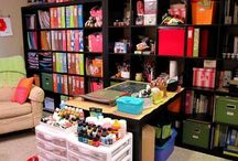 Craft Room / by Missie Clements