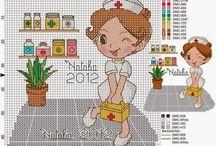 Cross stitch - medicine
