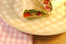 recepten pizza en wraps