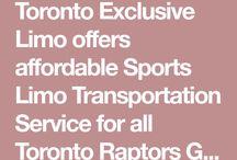 Toronto Raptors Game Limo Transfer Service 1 416 845 5005