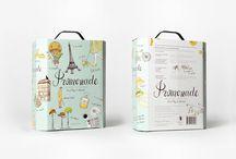 Bag-in-Box Verpackungen / Innovative und schöne Bag-in-Box Verpackungen für Wein, Öl, Saft und mehr ...