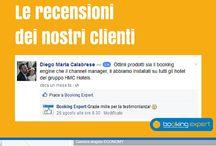 Recensioni di Booking Expert / Tutte le recensioni lasciate dai nostri clienti. #bookingexpert #bookingengine #channelmanager http://www.bookingexpert.it/