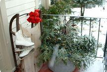 winter decor / by Melinda Faulkner