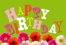 Happy Birthday / Felicitatie kaarten