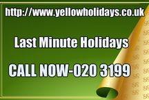 Last Minute Holidays