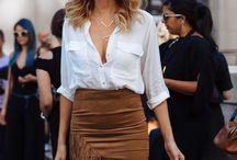 frindge skirt