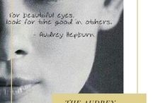 Audrey Hepburn / Audrey Hepburn had the classy side including sterling silver jewelry to compliment her wardrobe.