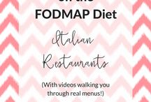 Low FODMAP travel and eating out